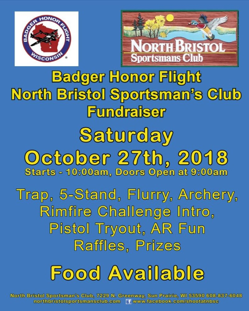 North Bristol Sports Club Fundraiser @ North Bristol Sportsman's Club | Sun Prairie | Wisconsin | United States